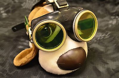 Authentic Soviet Russian  Army, Protective glasses, Goggles, Cold War, Steampunk