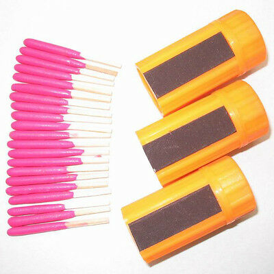 Survival Tool Windproof Waterproof Portable Matches For Camping Hiking 2016 20x