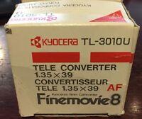 Kyocera Tl-3010u Tele Converter 1,35x39 Finemovie 8