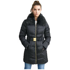 390721a909cc Ladies Long Parka Bubble Jacket Brave Soul Womens Coat Padded Hooded ...