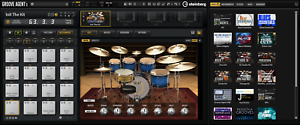 New-Steinberg-DAC-Groove-Agent-5-Drum-Plug-In-Educational-Edition-VST3-AAXAU