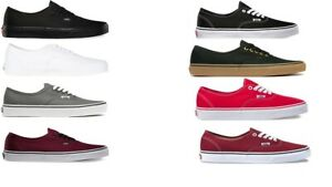 VANS-CLASSIC-AUTHENTIC-NEW-Sizes-3-5-15-Canvas-Free-Fast-Shipping