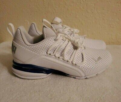 PUMA Axelion M Perf Metallic Sneakers JR Kids size 5C New open box No lid.   eBay