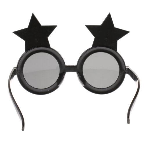 Glitter Happy New Year Sunglasses Star Glasses Fancy Dress Costume Accessory