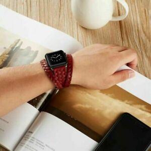 Buckle-Wrist-Watch-Bracelet-Band-Strap-Belt-bands-for-iWatch-Apple-Watch-38-42MM