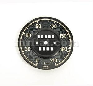 Mercedes-190-SL-Speedometer-Dial-Plate-New