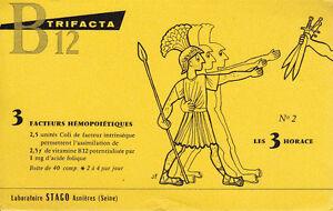 Buvard-Trifacta-B-12-Laboratoires-Stago