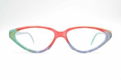 Cecile Vintage 0508/07/45 54 [] 14 140 Colorato Ovale Occhiali Eyeglasses Nos- Ad Ogni Costo