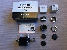 Canon FL Bellows +FD-EF +50mm f3.5 S.S.C Macro Lens +Rev. Coupler +20mm Ext Tube