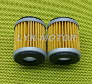New Oil Filters For 2009-2018 YAMAHA YZ250F YZ450F 2-Pack