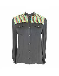 Moschino-Shirt-Wool-Vintage-Black