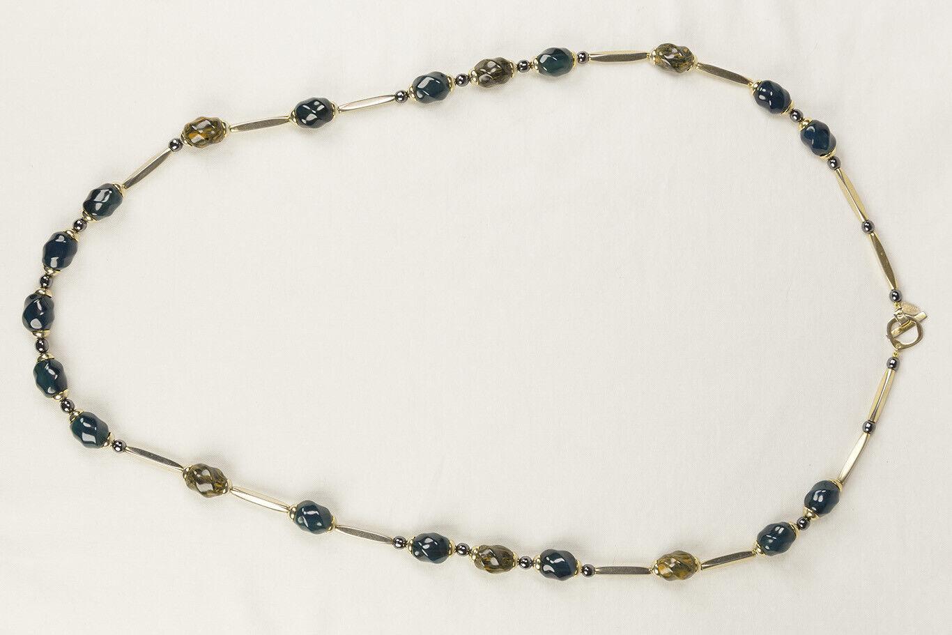 Iconic Vintage Lanvin Paris Modernist Necklace 19… - image 3