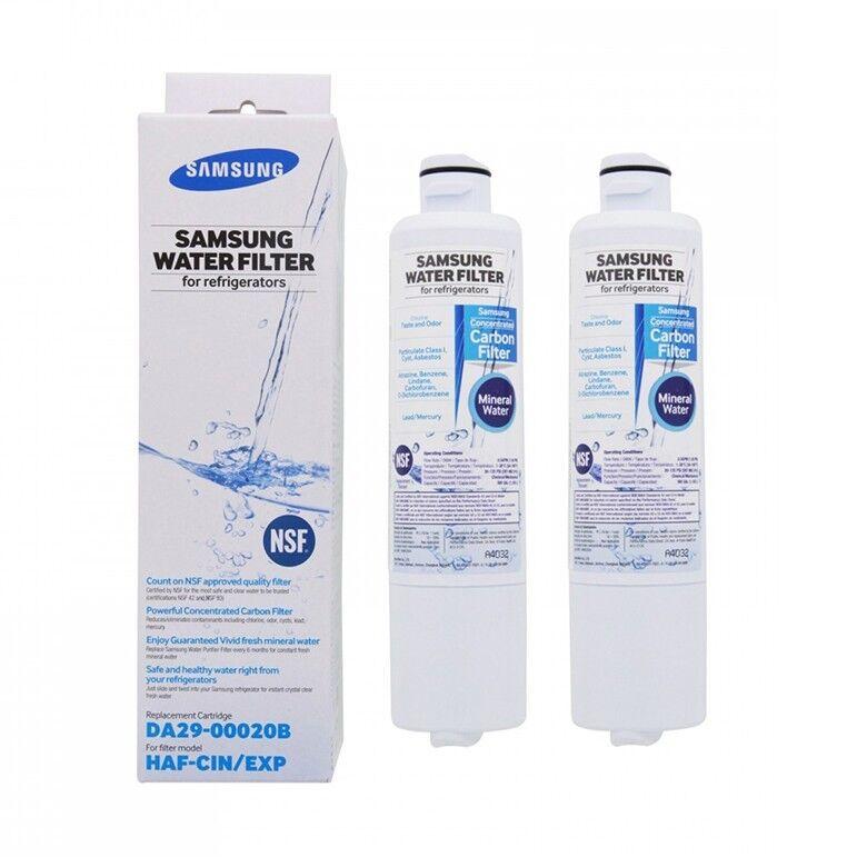 2 x Genuine Samsung Fridge Water Filter DA29-00020B DA29-00020B DA29-00020B 89e4bb