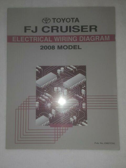 2008 Toyota Fj Cruiser Oem Evtm Electrical Wiring Diagram