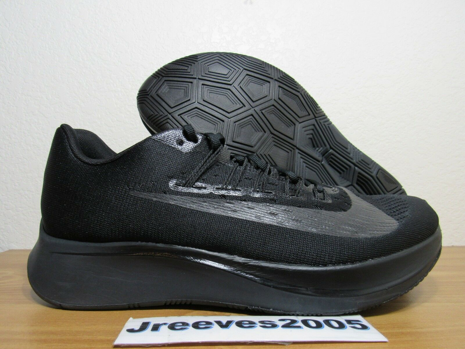 Nike Zoom Fly Sz 12.5 100% Authentic Running Black Running  880848 003
