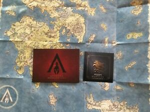 ARTBOOK-MAP-SOUNDTRACK-from-ASSASSIN-039-S-CREED-ODYSSEY-MEDUSA-EDITION-PS4-XBOX-PC