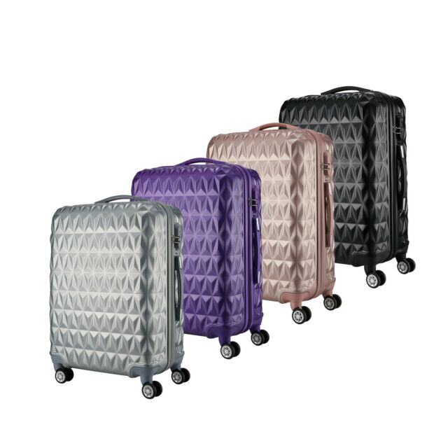 975f09c45427 Ryanair Approved Spinner Trolley Hand Luggage Suitcase Trolley 4 Wheels  Case Bag