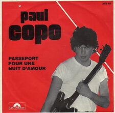 PAUL COPO PASSEPORT POUR UNE NUIT D'ETE / LA FILLE A LA CIGARETTE FR 45 SINGLE