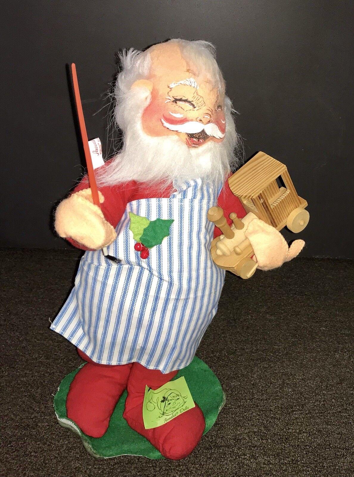 5 piece set Vintage Annalee Dolls Christmas