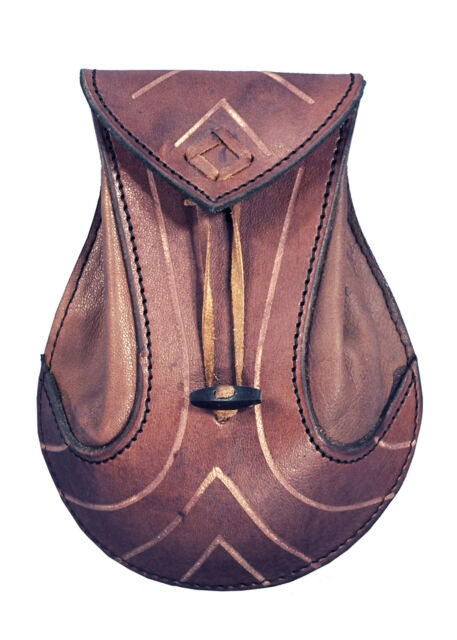 Brown Unisex Adult Epic Armoury 10140351 Leather gauntlet R hand