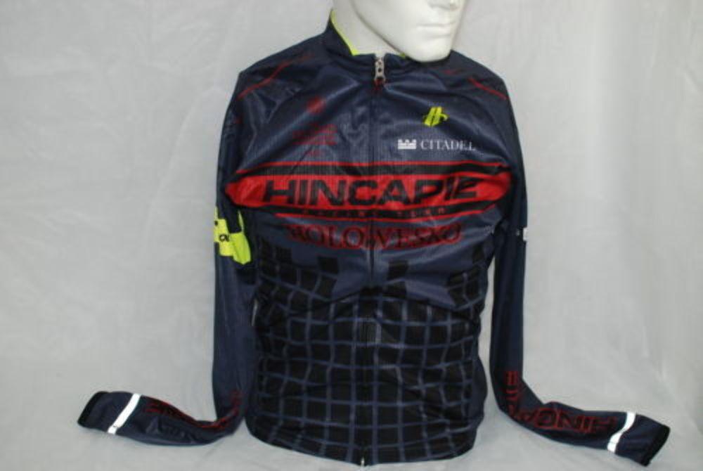 Hincapie Sports Wear Pro Cycling Team Long Sleeve Jersey Small NEW