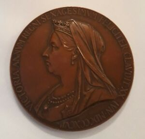 Details about QUEEN VICTORIA BRONZE MEDAL DIAMOND JUBILEE COMMERATIVE COIN  1837 - 1897