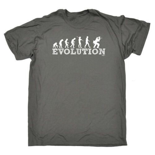 Evo Paintballing Funny Novelty T-Shirt Mens tee TShirt