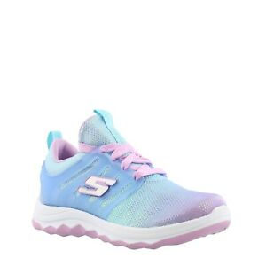 Skechers-Diamond-Runner-Kid-039-s-Youth-Memory-Foam-Shoes