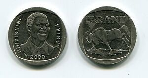 Nelson-Mandela-South-Africa-R5-Year-2000-Smiley-Coin-Madiba-historical-item