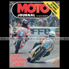 MOTO JOURNAL N°462 ROLF BILAND GRAZIANO ROSSI YAMAHA IT 175 SUZUKI 175 PE 1980