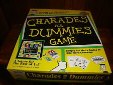 Charades For Dummies Game