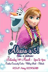 Personalised Frozen Birthday Party invitations x 10 with a GLITTER FINISH - <span itemprop=availableAtOrFrom>Bexleyheath, Kent, United Kingdom</span> - Returns accepted Most purchases from business sellers are protected by the Consumer Contract Regulations 2013 which give you the right to cancel the purchase within 14 days afte - Bexleyheath, Kent, United Kingdom