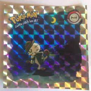 Lot 10 stickers autocollants Pokemon Neuf !