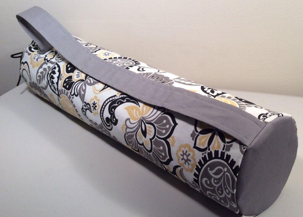 Yoga Mat Bag,  Multi color, Lined, Shoulder Strap, Canvas