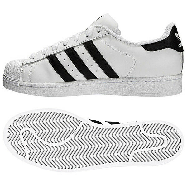Adidas Superstar Athletic Foundation (C77124) Skateboarding Shoes Athletic Superstar Sneakers 836c4f