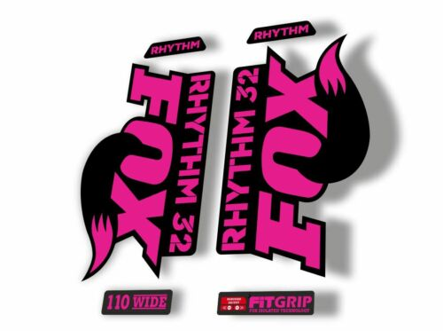 FOX 32 Rhythm 2018 Forks Suspension Factory Decal Sticker Adhesive Purple