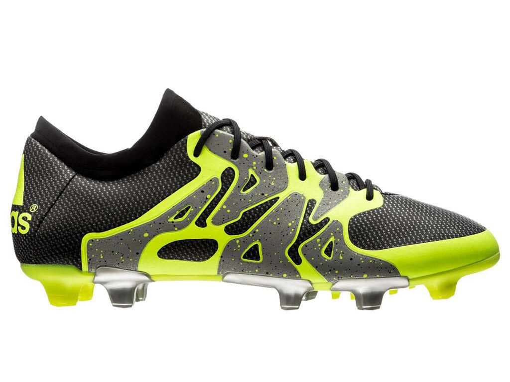Men's adidas X 15.1 FG/AG Soccer Cleats, S75238 Multiple Comfortable