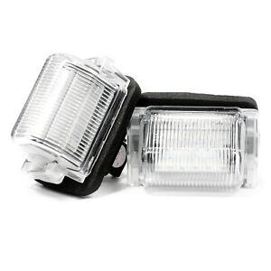 2-X-LED-Eclairage-De-Plaque-Plaque-D-039-Immatriculation-Xenon-Lampe