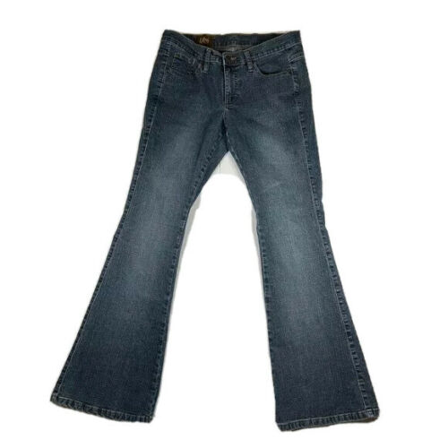 Lee Flared Jeans Women's Juniors Size 9 x 32 Midri
