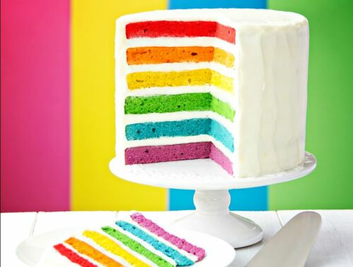 6 Fun Rainbow Cake Ideas