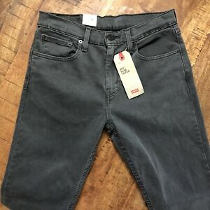 Levi-039-s-512-Jeans-Slim-Taper-Stretch-Black-288330108-Mens-31x32