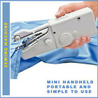 MINI HANDHELD PORTABLE SEWING MACHINE ELECTRIC WITH ACCESSORIES CRAFT DIY ITEM