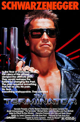 """T1 The Terminator Movie Collector/'s Poster Print 11/"""" x 17/"""" - B2G1F"""