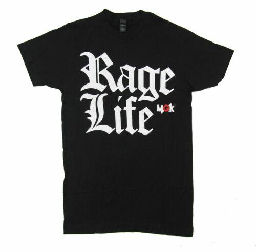Machine Gun Kelly Rage Life Black T Shirt New Official