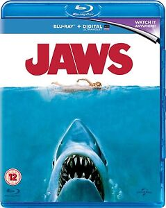 BLU-RAY    JAWS           BRAND NEW SEALED UK STOCK 5050582977486