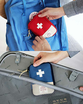 2Nul- First Aid Pouch - Bag Only - Travel Outdoor Emergency First Aid Organizer