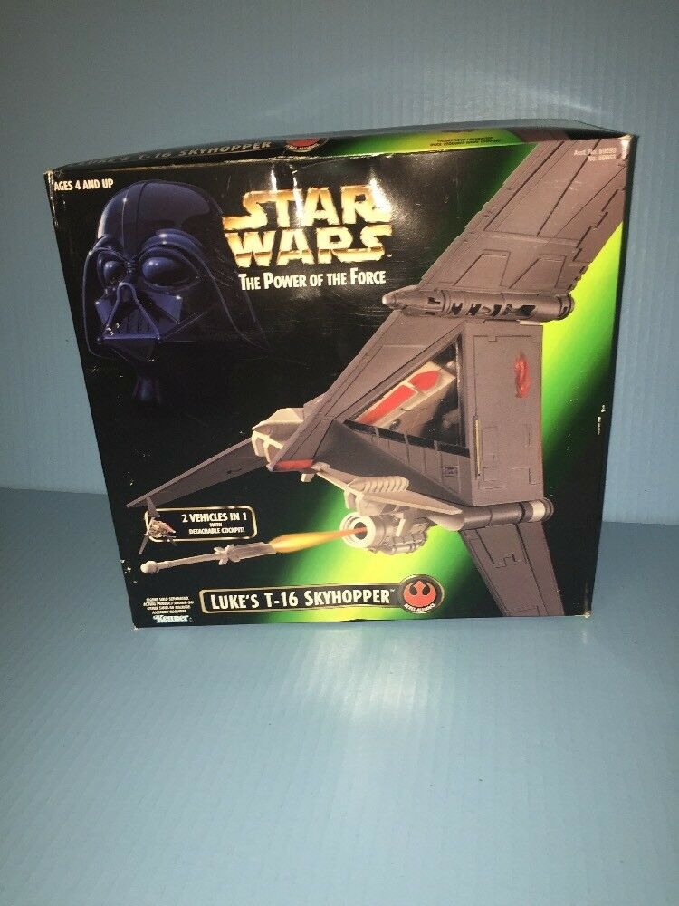 Hasbro Kenner Star Wars Luke's T-16 Skyhopper Power of the Force 1996 NEW