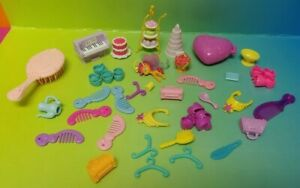 My-Little-Pony-MLP-G4-Hasbro-Accessory-Lot-of-30-Accessories-Shoes-Brushes-More