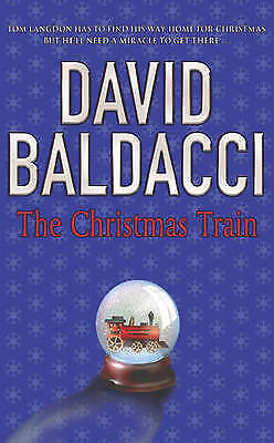 Baldacci, David, The Christmas Train, Paperback, Very Good Book