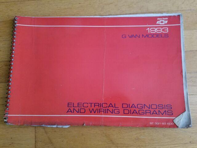 1993 Chevy G Van Models Electrical Diagnosis  U0026 Wiring